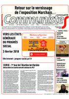 Journal CommunisteS n°704 6 décembre 2017l